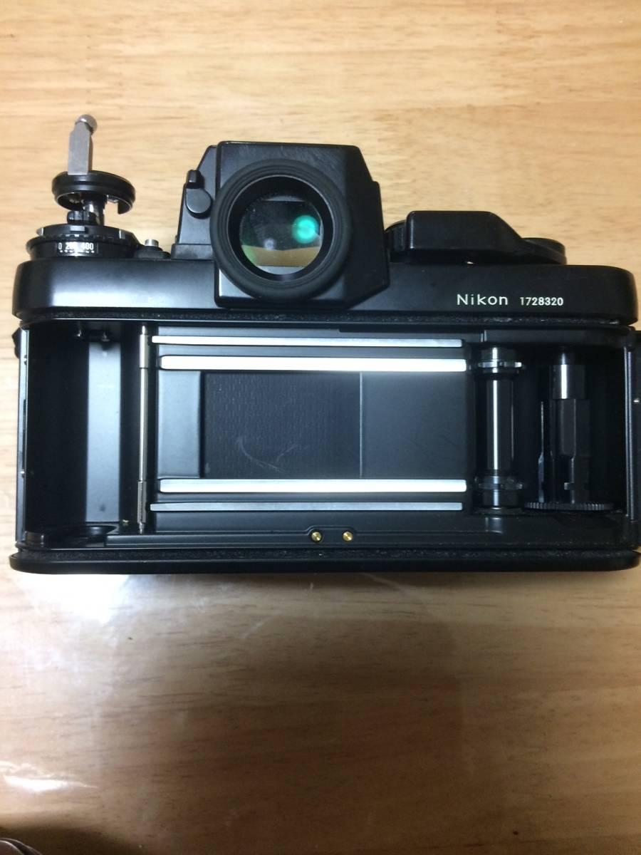 NIKON ニコン F3 HP ハイアイポイント ブラック ボディ _画像3