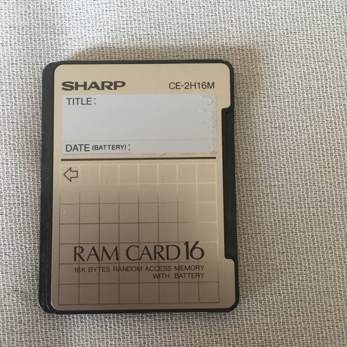 SHARP CE-2H16M