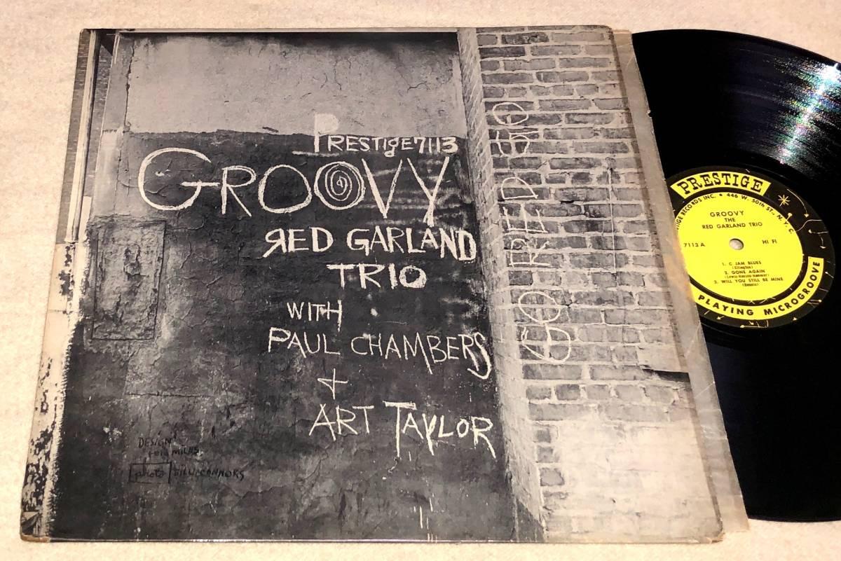 値下●Monoプレイ良好!NYC完オリ完品Red Garland / Groovy●Paul Chambers,Art Taylor参加PrestigeピアノTrio最高傑作大名盤