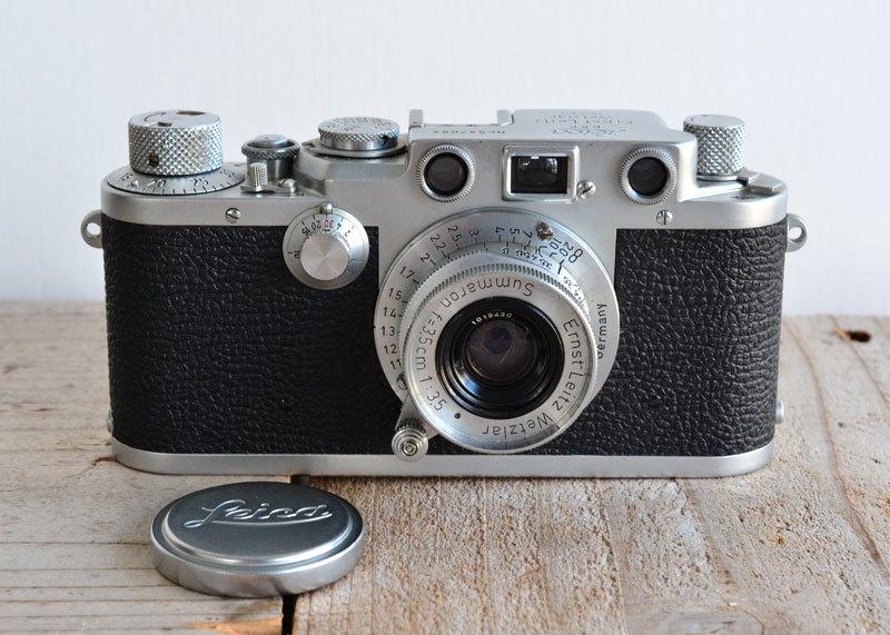 ライカ iiif Leica バルナック フィルムカメラ + Summaron f3.5 3.5cm 35mm ズマロン