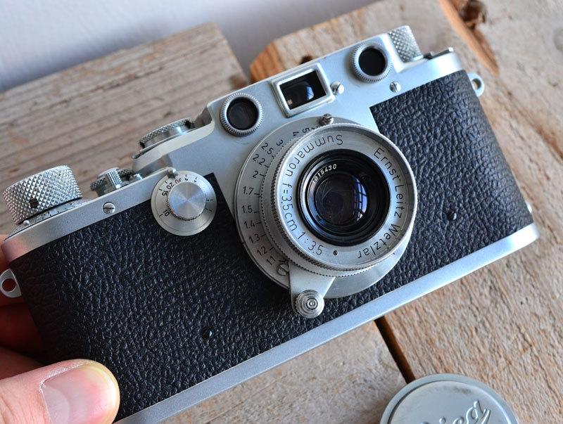 ライカ iiif Leica バルナック フィルムカメラ + Summaron f3.5 3.5cm 35mm ズマロン_画像3