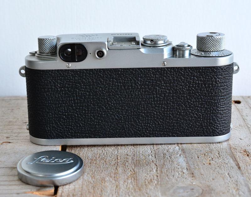 ライカ iiif Leica バルナック フィルムカメラ + Summaron f3.5 3.5cm 35mm ズマロン_画像4
