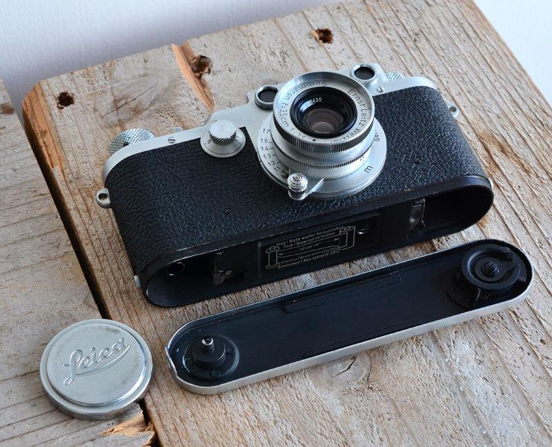 ライカ iiif Leica バルナック フィルムカメラ + Summaron f3.5 3.5cm 35mm ズマロン_画像5
