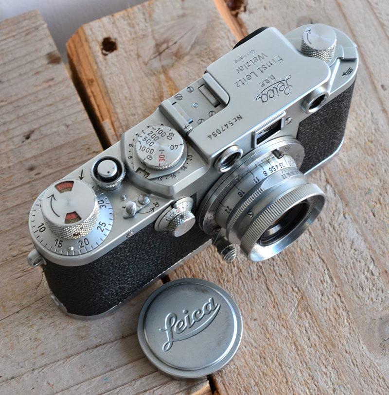 ライカ iiif Leica バルナック フィルムカメラ + Summaron f3.5 3.5cm 35mm ズマロン_画像2