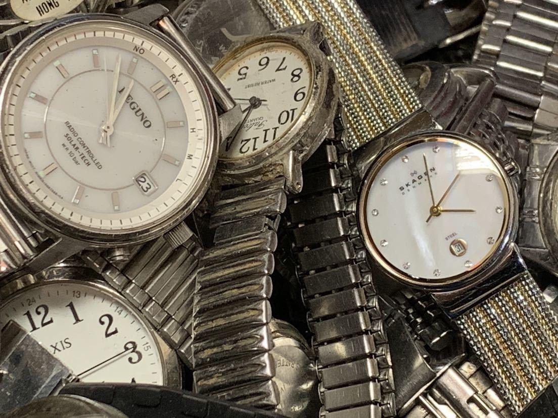大量ジャンク腕時計 オメガ ロンジン カシオ スカーゲン セイコーなど メンズ レディース など腕時計まとめて200点以上_画像5