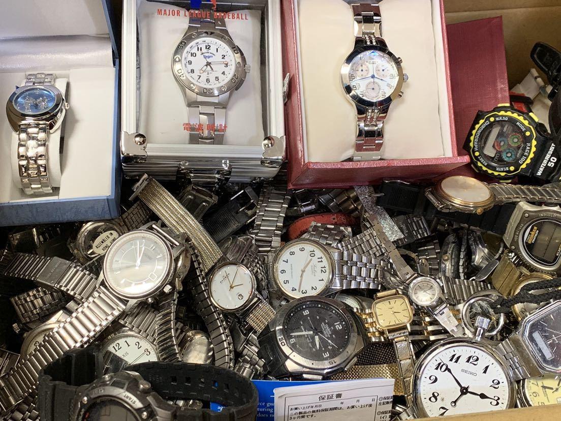 大量ジャンク腕時計 オメガ ロンジン カシオ スカーゲン セイコーなど メンズ レディース など腕時計まとめて200点以上