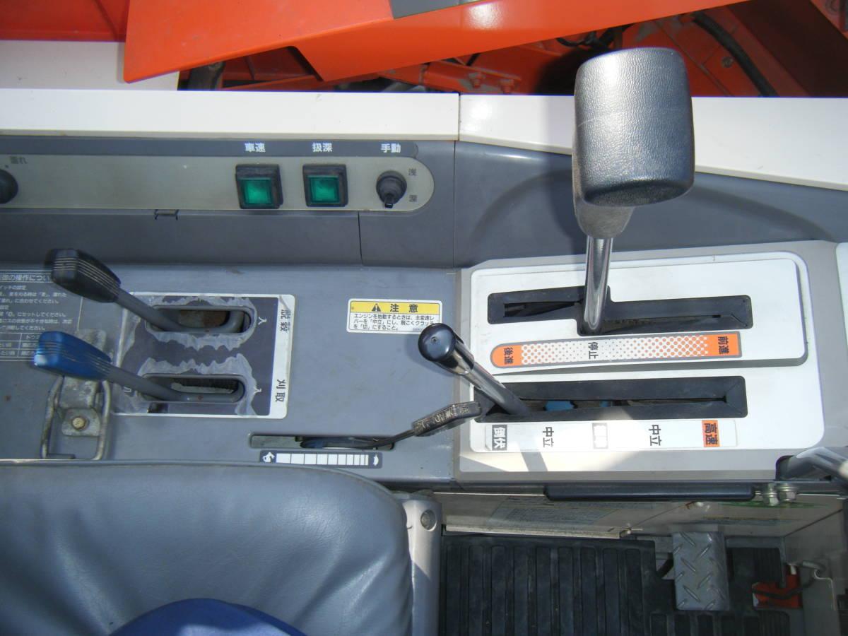 クボタ3条刈コンバイン SR25GHDW 程度良 使用時間266H_画像4