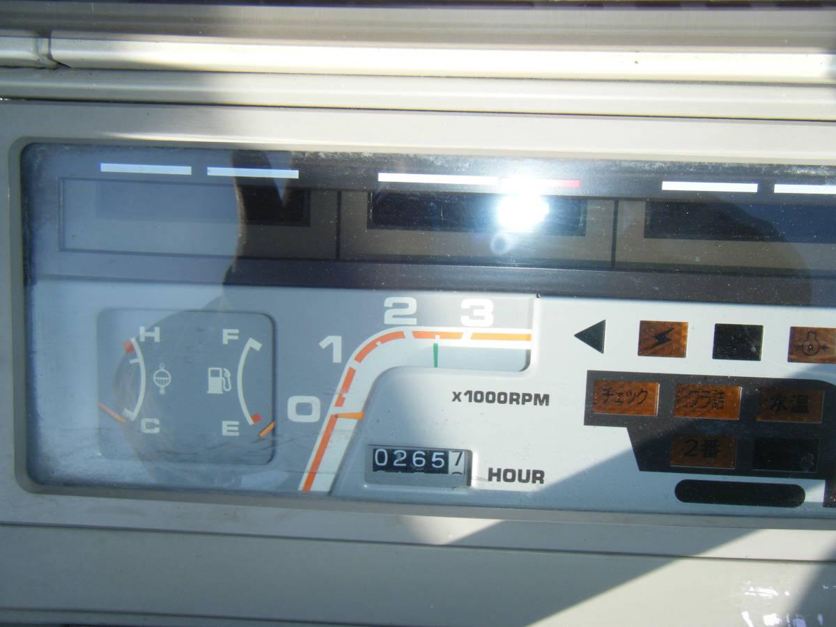 クボタ3条刈コンバイン SR25GHDW 程度良 使用時間266H_画像9