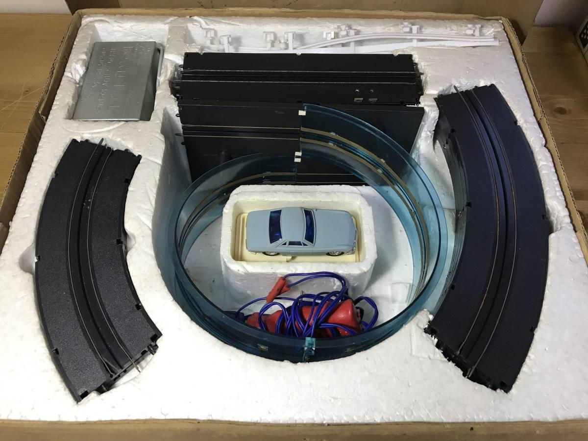 米澤玩具 トランス式 レーシング サーキット グランド ループコース 回転台セット 昭和 レトロ アンティーク_画像3