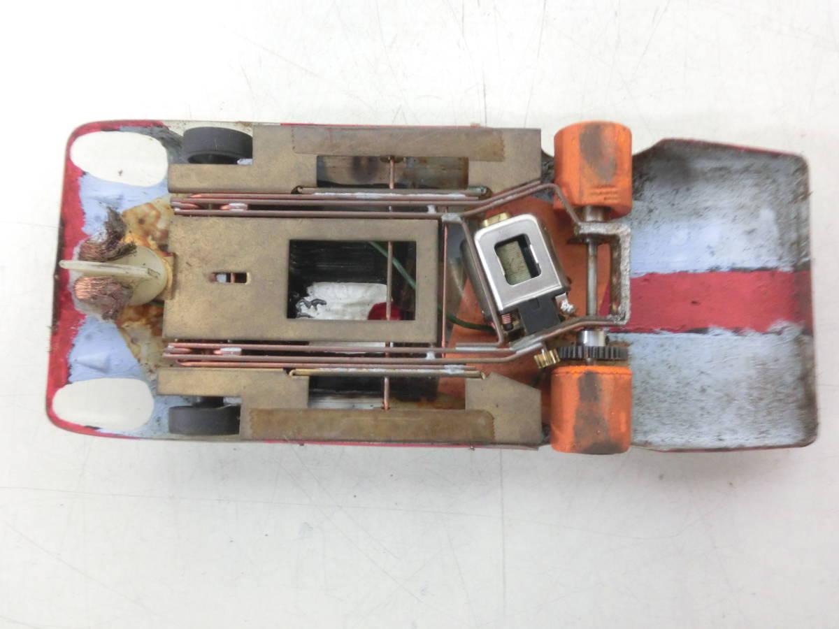 希少 昭和レトロ おもちゃ スロットカー レーシングカー 詳細不明※画像にてご判断ください 1/24 動作未確認 ジャンク品 NY1120_画像8
