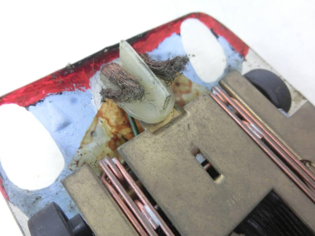 希少 昭和レトロ おもちゃ スロットカー レーシングカー 詳細不明※画像にてご判断ください 1/24 動作未確認 ジャンク品 NY1120_画像9