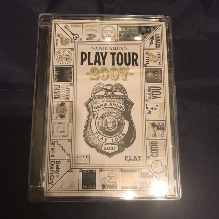 新品未開封 安室奈美恵 PLAY TOUR 2007 DVD ツアー コンサート ライブ Finally