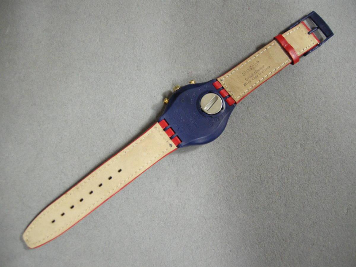 【未使用品】スウォッチ腕時計 クォーツ クロノグラフ SWATCH_画像4