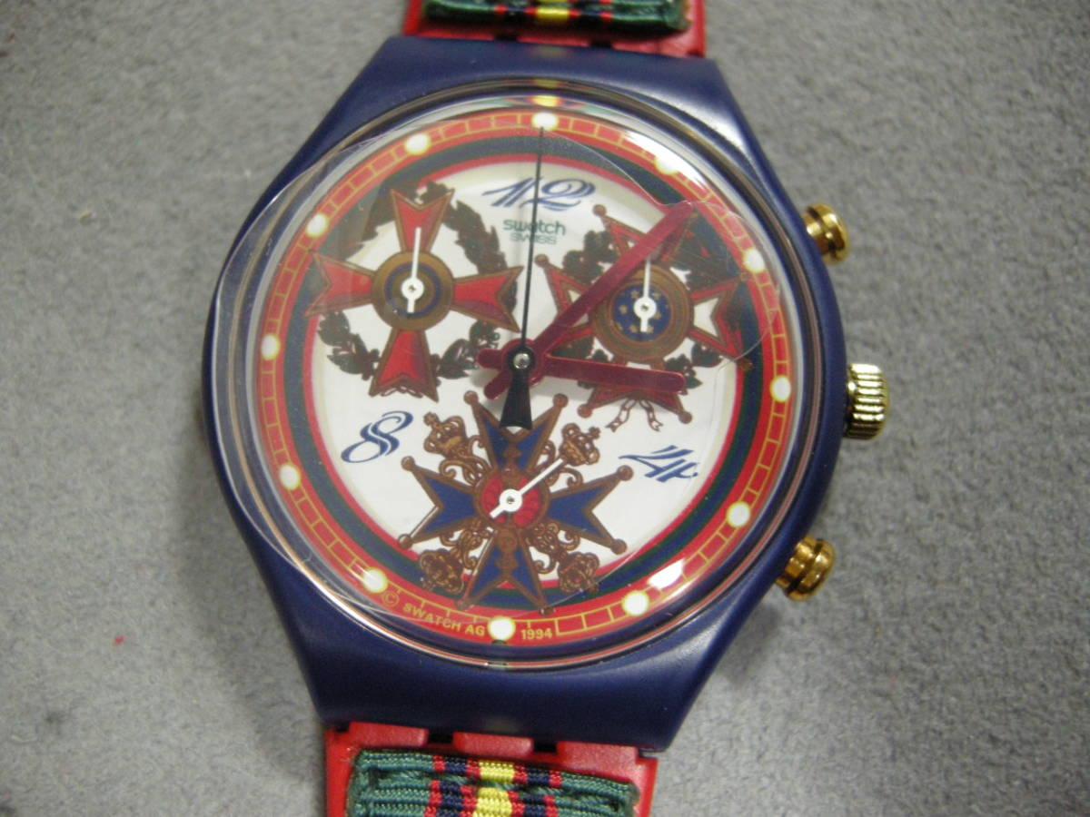 【未使用品】スウォッチ腕時計 クォーツ クロノグラフ SWATCH_画像1