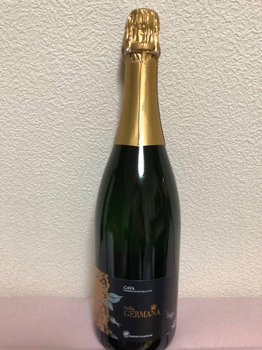 ★新品未開封★ PAGO DE THARSYS DONA GERMANA CAVA BRUT スペイン産 スパークリングワイン_画像1