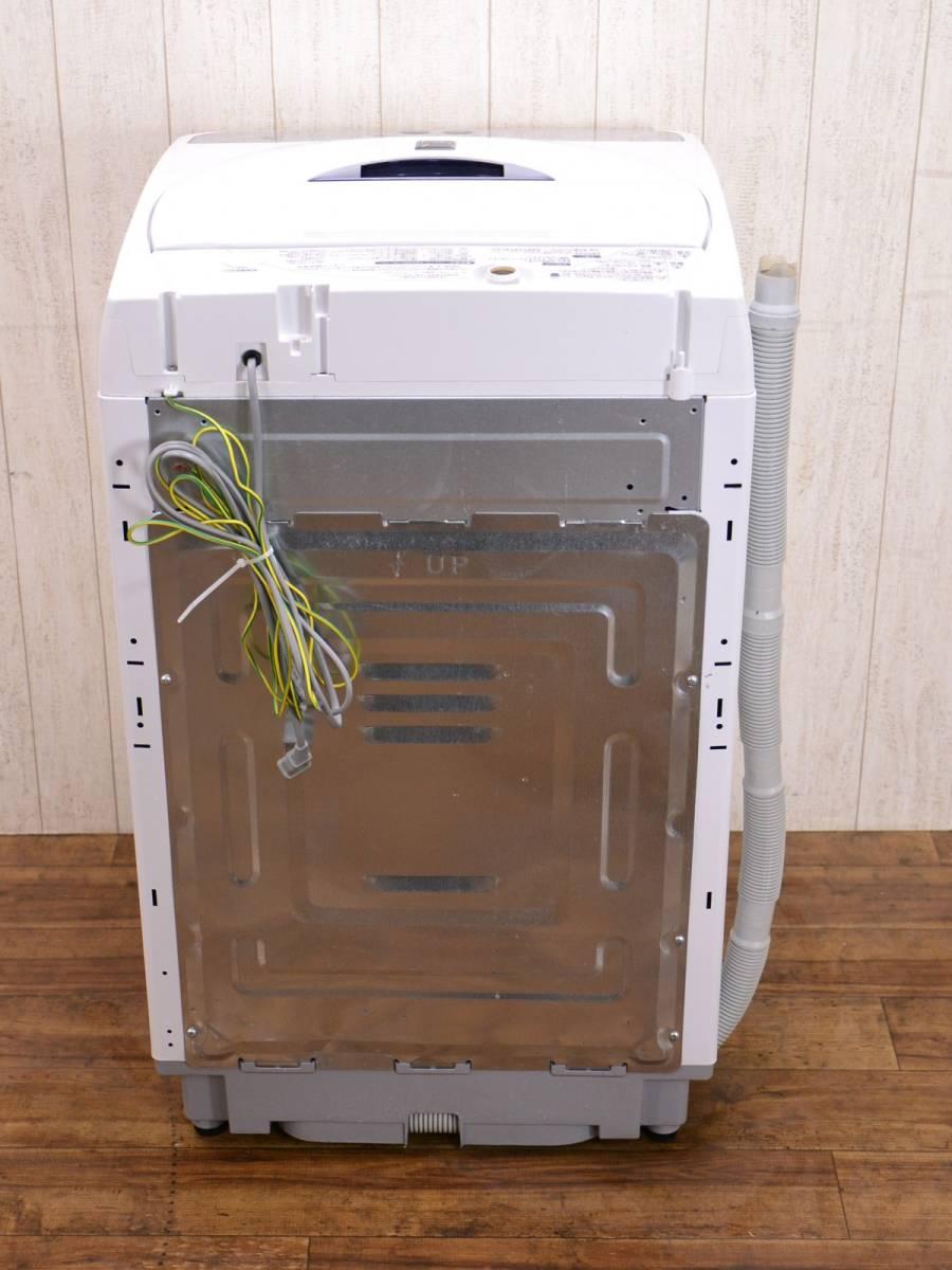 SHARP シャープ ☆ 5.5kg 全自動洗濯機 【 ES-55E8 】 時短 Ag イオンコート フライパル ☆ 管46584_画像7