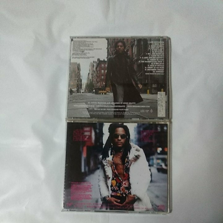 LENNY KRAVITZ 国内盤2CDセット/IT IS TIME FOR A LOVE REVOLUTION /ARE YOU GONNA GO MY WAY_画像2