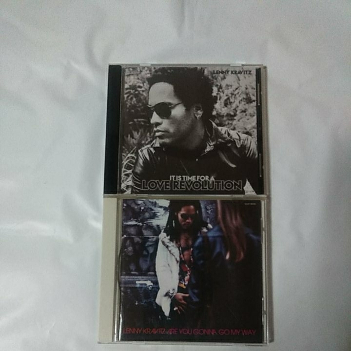 LENNY KRAVITZ 国内盤2CDセット/IT IS TIME FOR A LOVE REVOLUTION /ARE YOU GONNA GO MY WAY_画像1