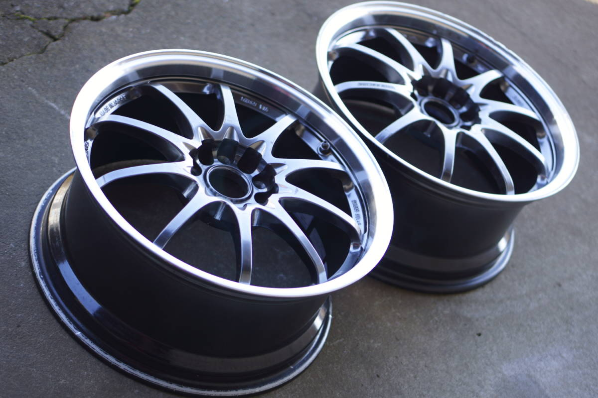 RAYS CE28N(8.5J+52/PCD114.3)2本セット S2000にて使用
