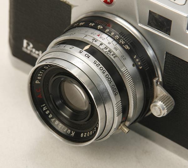 稀少? 機種不明 ペトリカメラ F2.8 _画像7