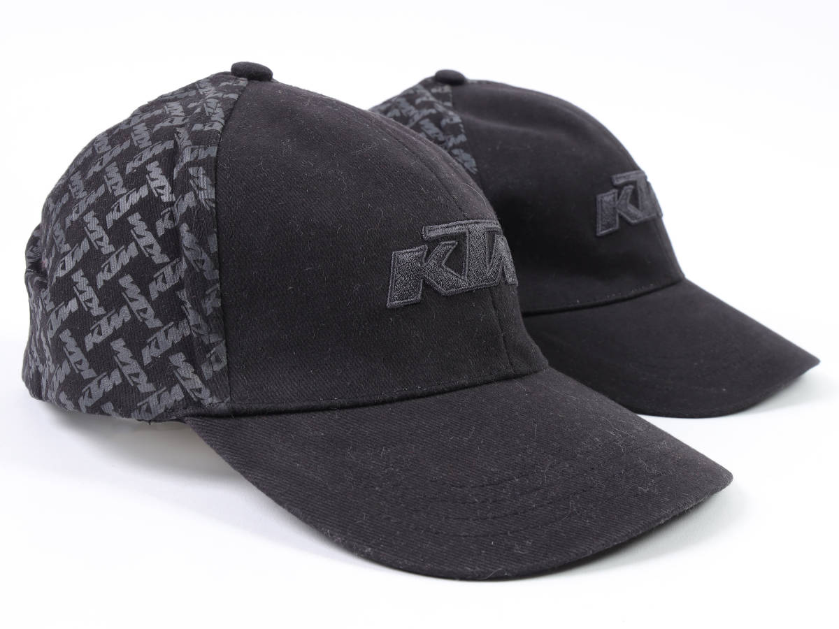 【KTM Racing POWER WEAR】KTM チェーンロゴ キャップ BLACK モデル キャップ!(検:KTM Motocross MXGP 全日本 DUKE RC8R)
