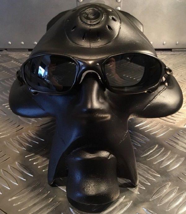 希少 残り一個 オークリー Oakley サングラス メガネ 眼鏡 非売品 店舗用 ディスプレイ スパイクボブヘッド BlackVer スタンド 1円スタート_画像3