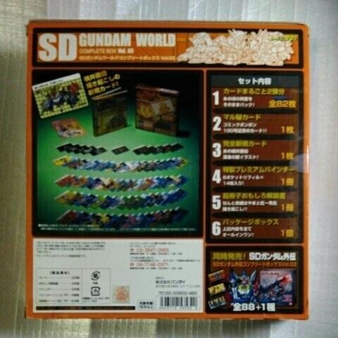 B06 SDガンダムアニバーサリー SDガンダムワールドコンプリートボックス vol.03 (バンダイ2008)_画像2