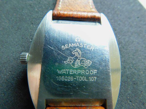 OMEGA 腕時計 シーマスター COSMIC コスミック 自動巻き 革バンド 動作確認済 Gtt1903010_画像5