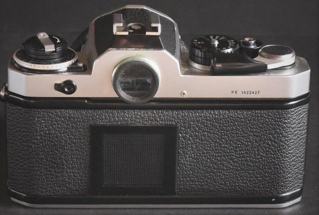 Nikon FE◆明るいレンズ◆NIKKOR 50mm f1.2◆新品同様◆コレクター向き超美品◆19-03-03-17_画像4