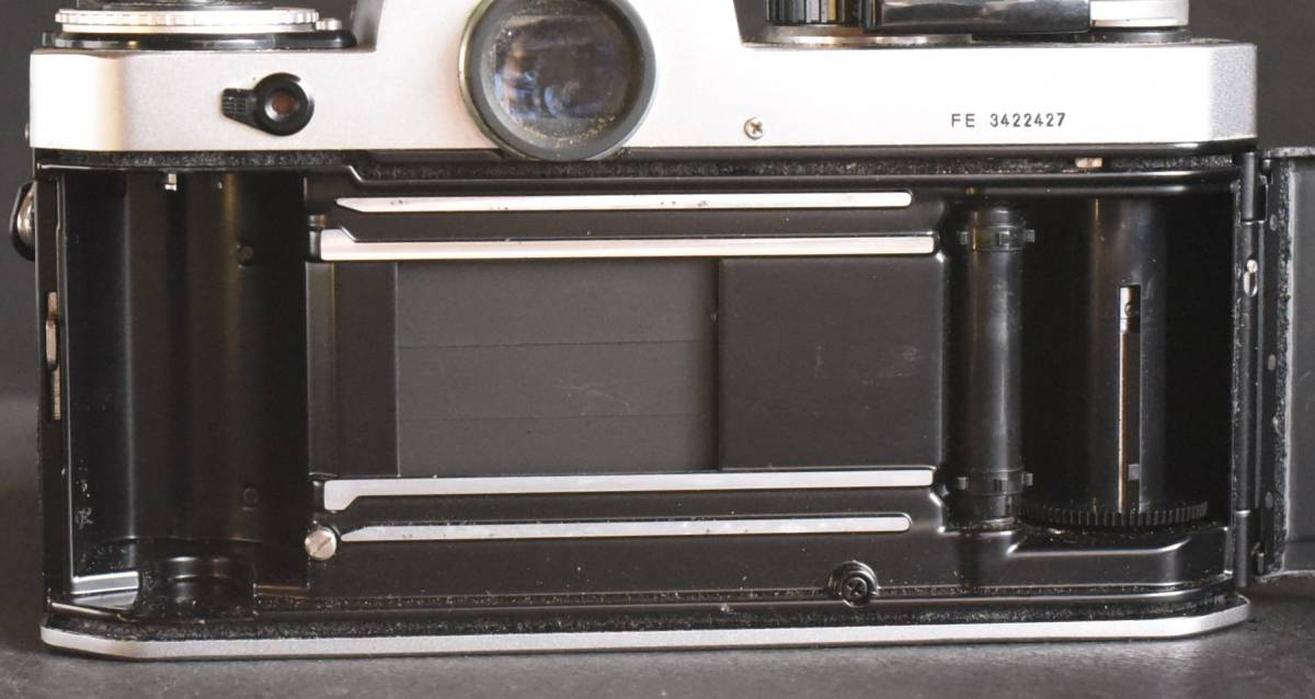 Nikon FE◆明るいレンズ◆NIKKOR 50mm f1.2◆新品同様◆コレクター向き超美品◆19-03-03-17_画像10