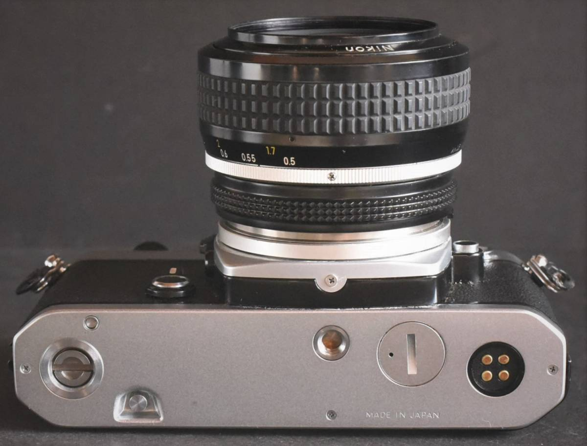 Nikon FE◆明るいレンズ◆NIKKOR 50mm f1.2◆新品同様◆コレクター向き超美品◆19-03-03-17_画像6