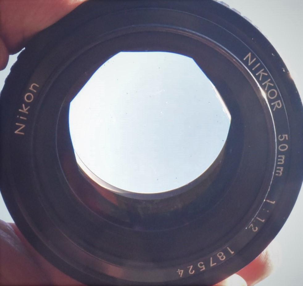 Nikon FE◆明るいレンズ◆NIKKOR 50mm f1.2◆新品同様◆コレクター向き超美品◆19-03-03-17_画像8