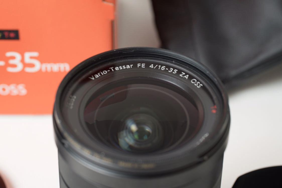 SONY Vario-Tessar T* FE 16-35mm F4 ZA OSS おまけ保護フィルター付き SEL1635Z 広角レンズ ミラーレス _画像3