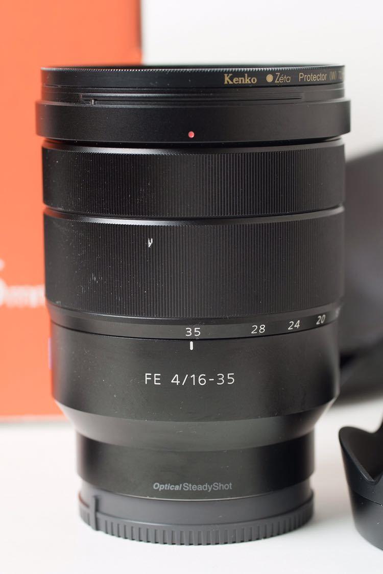 SONY Vario-Tessar T* FE 16-35mm F4 ZA OSS おまけ保護フィルター付き SEL1635Z 広角レンズ ミラーレス _画像2