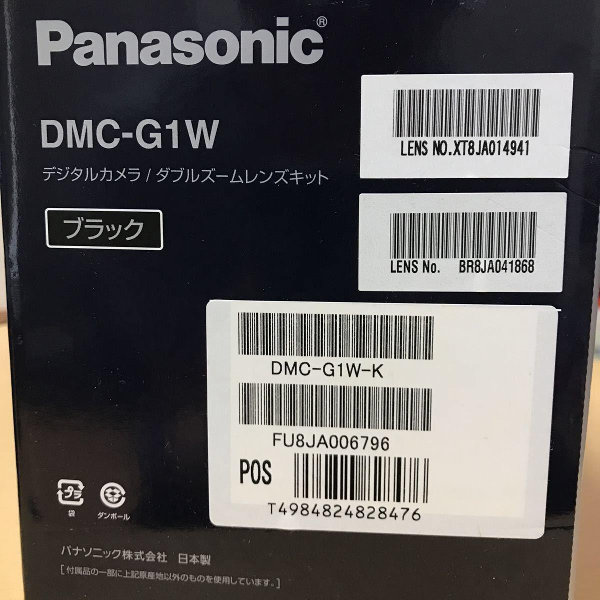 訳あり Panasonic パナソニック LUMIX G1 ダブルズームレンズキット DMC-G1W-K カメラ ミラーレス一眼 コンフォートブラック K3707718_画像9
