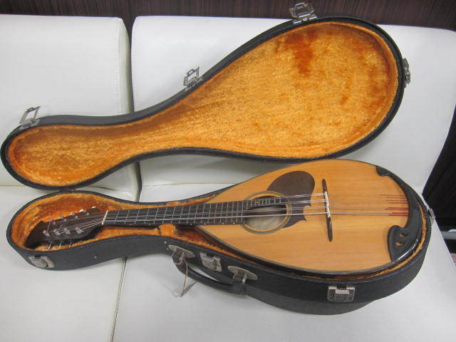 弦楽器 SUZUKI スズキ マンドリン No.20 年代物 ハードケース付き