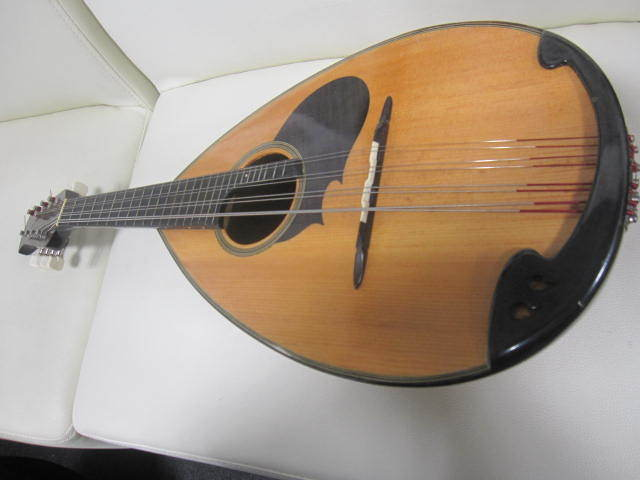 弦楽器 SUZUKI スズキ マンドリン No.20 年代物 ハードケース付き_画像2