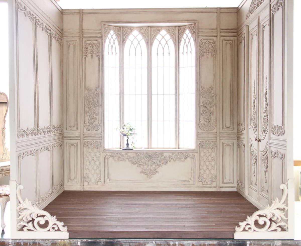 ★1/3ドールハウス~ドール用背景セット~★ハンドメイド.作品No.303「Dress」より
