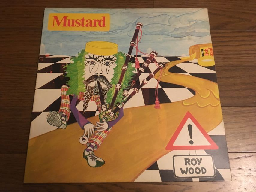 Roy Wood / Mustard UKオリジナル盤 ビートルズ直系英ポップス大名盤 ロイウッド ELO レコード LP 美品_画像1
