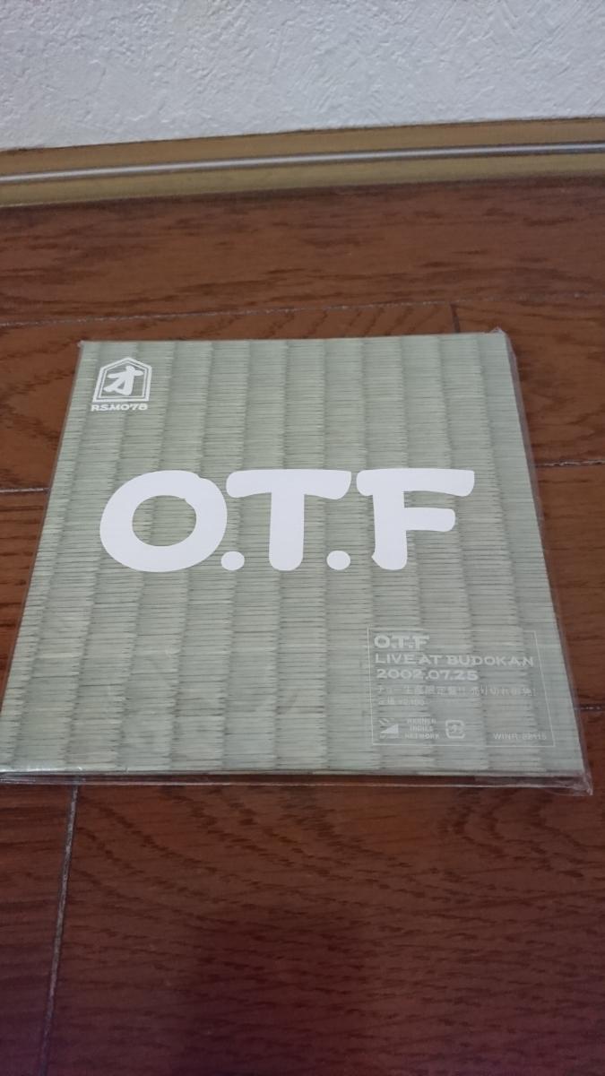 RIP SLYME リップスライム '5万枚チョー生産限定盤'「O.T.F LIVE AT BUDOKAN 2002.0.7.25」CD 中古 美品/RAP HIP-HOP ライブ _画像1