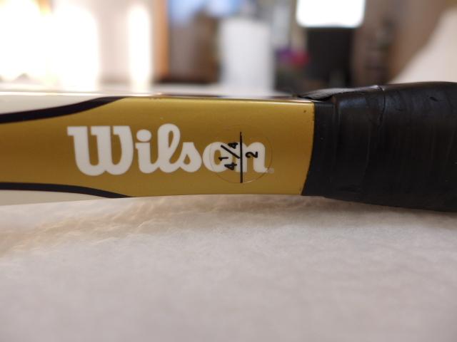 2本組 ☆ Wilson ProStaff SIX.ONE100 ウィルソン プロスタッフ シックスワン100 G2 ☆ 新品グロメットに交換済み_画像8