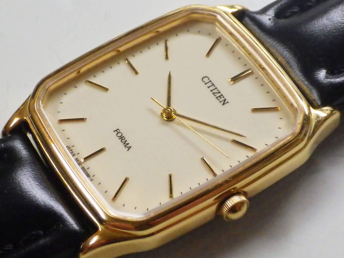 シチズン フォルマ OH済み。メンズ・男性用クォーツ腕時計。FRU59-7611。_画像1
