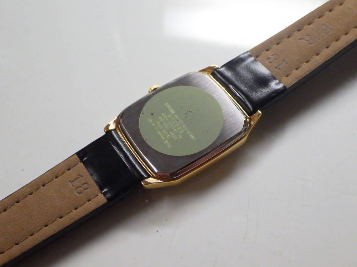 シチズン フォルマ OH済み。メンズ・男性用クォーツ腕時計。FRU59-7611。_画像6