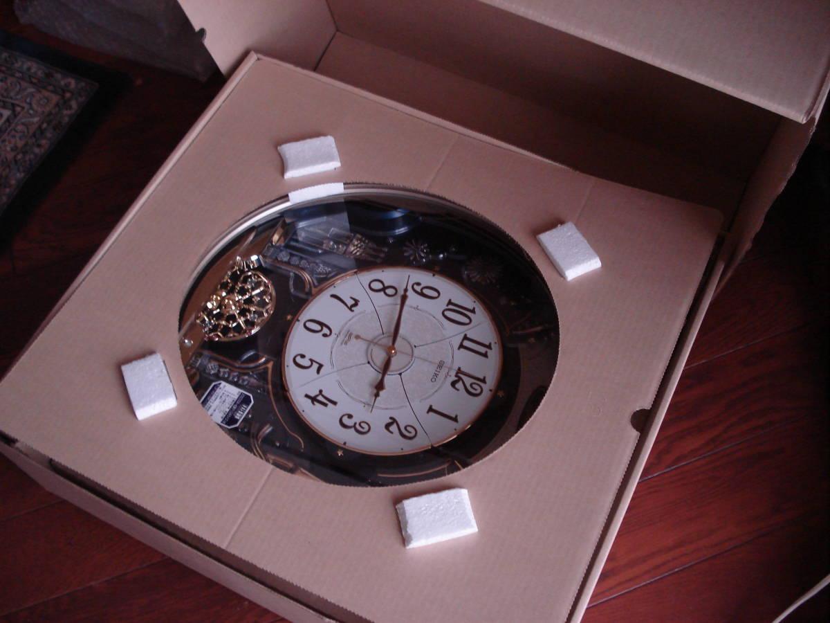 セイコー(SEIKO) 掛時計 ♪ 電波クロック 型番RE561H 長期保管品 ♪ 格安5円から売切り_画像7