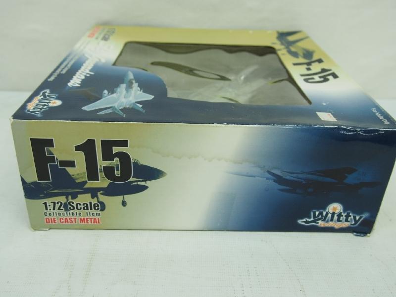 5576P Witty Wings ウイッティ ウイングス◆ 1/72 F-15 イーグル ダイキャスト メタル◆スカイガーディアンズ 戦闘機 航空機_画像7