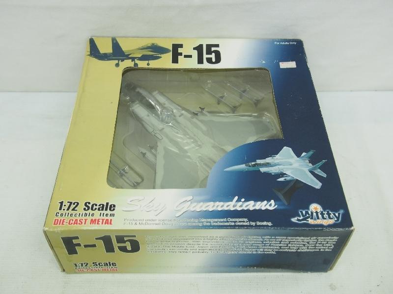 5576P Witty Wings ウイッティ ウイングス◆ 1/72 F-15 イーグル ダイキャスト メタル◆スカイガーディアンズ 戦闘機 航空機_画像2