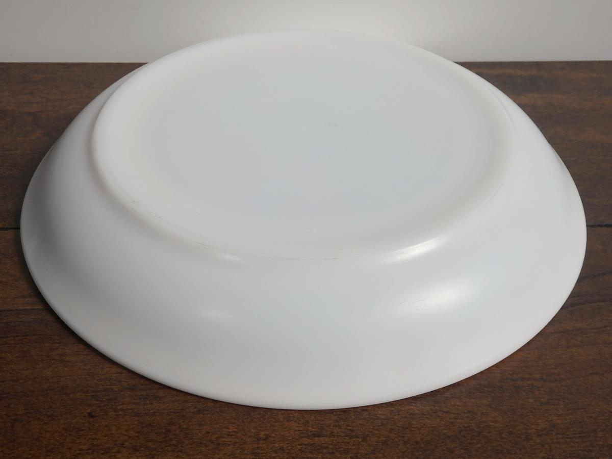 【送料無料】arcopal アルコパル ミルクガラス 21㎝プレート 皿 2枚セット フランス蚤の市 ブロカント 92004_画像5