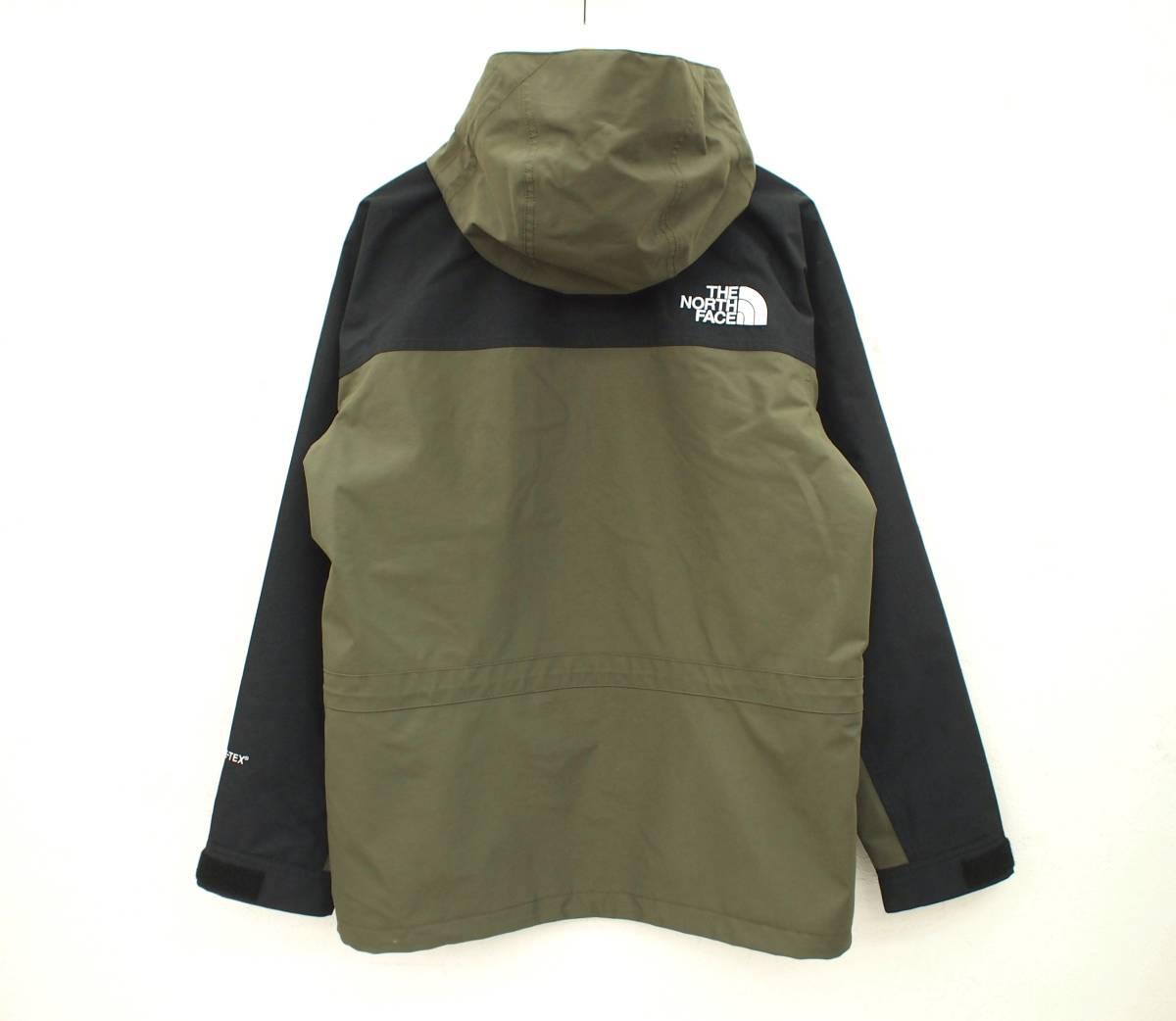 18SS THE NORTH FACE ノース Mountain Light Jacket マウンテンライトジャケット GORE-TEX ゴアテックス GL グレープリーフ カーキ NP11834_画像2