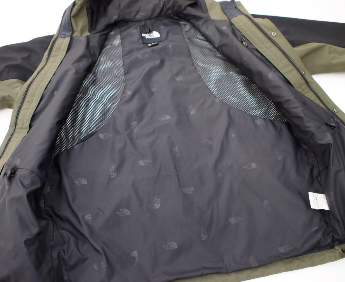 18SS THE NORTH FACE ノース Mountain Light Jacket マウンテンライトジャケット GORE-TEX ゴアテックス GL グレープリーフ カーキ NP11834_画像5
