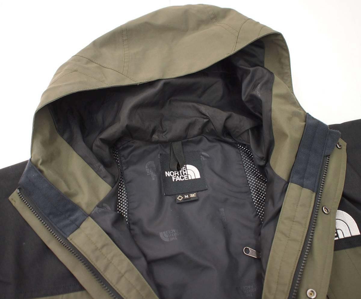 18SS THE NORTH FACE ノース Mountain Light Jacket マウンテンライトジャケット GORE-TEX ゴアテックス GL グレープリーフ カーキ NP11834_画像3